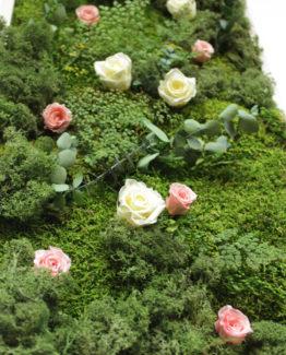 Cuadros naturales con flores preservadas